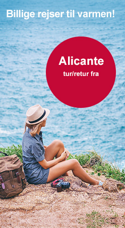 Billig fly til Alicante