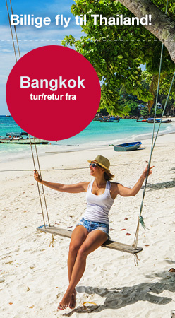 Billig fly til Bangkok