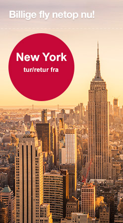 Billig fly til New York